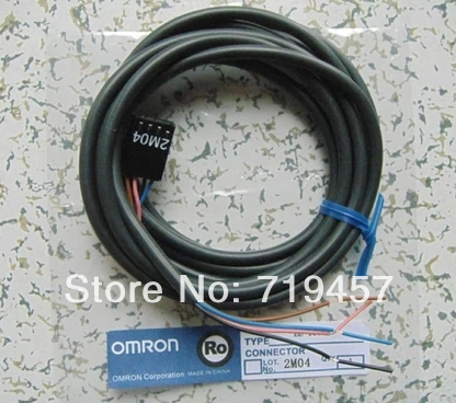FREE SHIPPING 5PCS/LOT EE-1006 CONNECTOR W/2M CABLE FOR OPTO