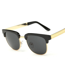 Marca de lujo de gafas de Sol 2017 mujeres diseñador de la marca Classic Retro Unisex gafas de Sol hombres Unisex sunglass eyewear UV400