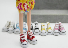 Hot Sale New Beautiful 1 Pair 1 6 Cute Lace Up Canvas Shoes Fits 12 inch