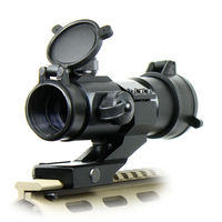 Tactical 4 MOA Red Green Dot Laser Airsoft Illuminated M3 RifleScope Reflex Stinger Dot Sight PEPR