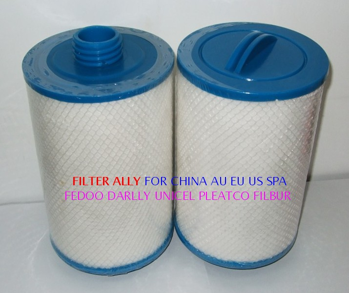 Cheap hot tub spa filter 205 x 150mm SAE thread Regular thread Pleated Meltblown available fit
