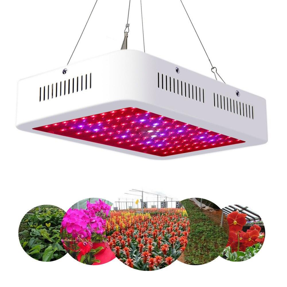 1000 Вт Светодиодный светильник для выращивания растений, полный спектр, лампа для выращивания растений в помещении, микро зелень, суккуленты
