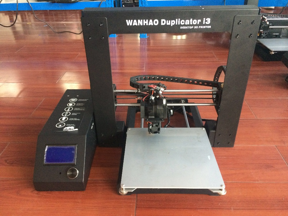 Upgraded Quality 2018! High Precision Wanhao Duplicator i3 V2.1 (Prusa i3) 3D Printer with LCD SD-card and tools for FREE! high quality wanhao jewelry 3d printer with 2gb sd card an 1kg filament for free