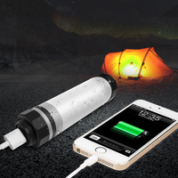 Stopdark IP68 Outdoor Light Waterproof Camping Lamp SOS Tent Light USB Charging Built In Lithium Battery
