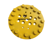 250mm 10  20 Round Segment Diamond Grinding Disc Wheel For 250 Grinders