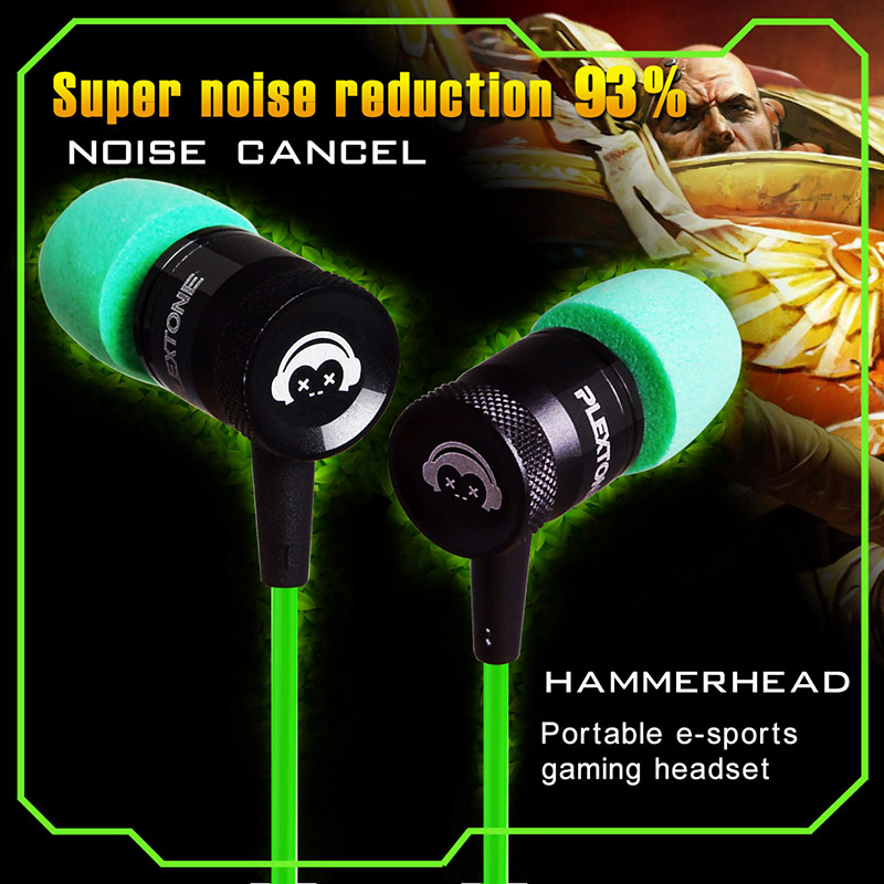 G10 Metal Hifi Gaming Earphone For Computer Laptop PC Mobile Phones Sports Stereo Bass Headset with Microphone