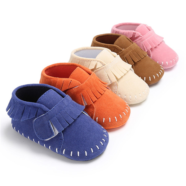 6b45c25827f54 US $4.99 |Fashion Branded Girls Newborn Sneakers Boy Baby Moccasins Soft  Sole Kids Shoes Leather Toddler Booties First Walker Tassel Boots-in First  ...