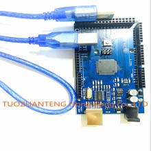 Mega2560 R3 ATmega2560-16AU (1pcs Board +1pcs USB Cable) Mega2560 REV3 for Arduino Compatible no logo