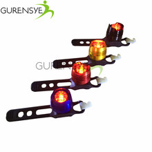 Frame Cycling light LED Waterproof Bike Safety Caution Lights Bicycle Front Rear Tail Helmet Red Flash Lights Warning Lamp