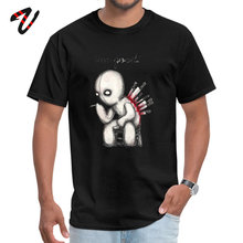 Hot Sale Men black T Shirts Back Stabbed Custom Shirt Pure Spiderman Heavy Metal Sleeve Funny Tops & Tees Round Collar