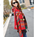 Desigual Winter Brand Poncho Scarf For Women Tassel Pashmina Luxury Bandana Shawl Magic Fpulard MF748962