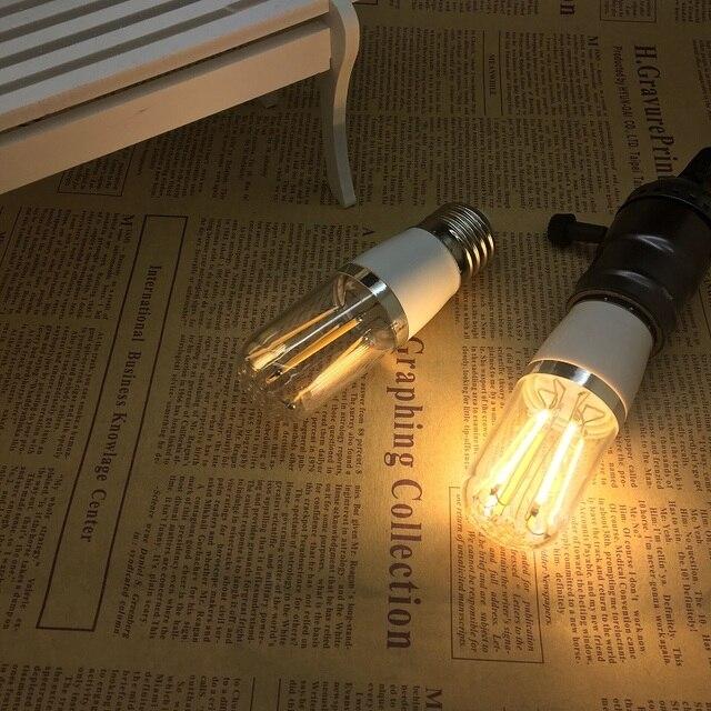 LED Retro lamp E27 E14 G9 B22 vintage edison filament light 110v