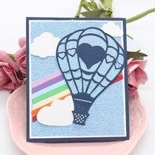 Hot Air Balloon Metal Cutting Dies for Card Making