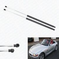 2pcs Front Hood Auto Gas Springs Struts Ascensor de apoyo Dampers For BMW Z4 Convertible 2003 2004 2005 2006 2007 2008