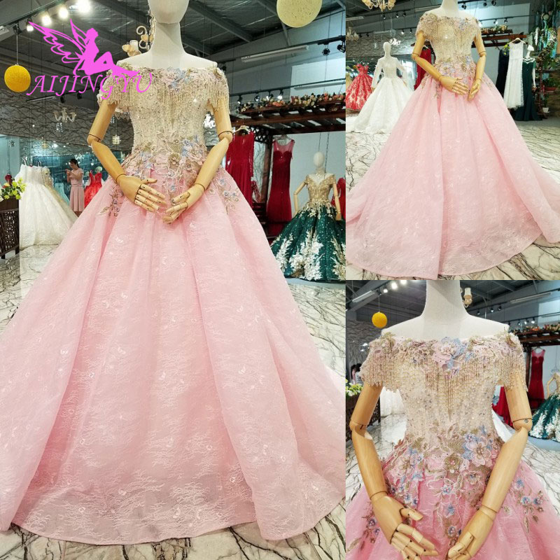 AIJINGYU Wedding Gowns Wedding Dress Lace Gown Underskirt Sexy Affordable Butterfly Boho Chic New Bridal Dresses