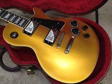 2015-neue Ankunft Heiße Gitarre G LP Standard Upgrade pickups ebenholzgriffbrett verbindlich Gold Top VOS Elektrische Gitarre nicht fall