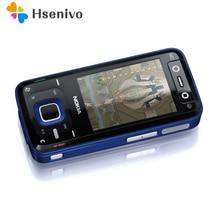 Nokia N81 N81 Desbloqueado 100% Original GSM 3G red WIFI 2MP FM cámara de 2.4 pulgadas Del Teléfono Móvil Garantía de 1 Año Envío gratis