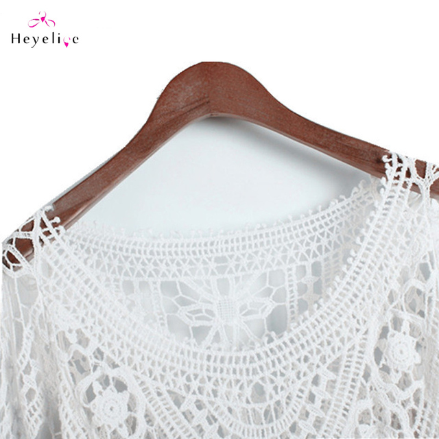 Sexy Backless Knitted Bikini Cover Up for Summer Look