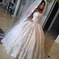 Lace Appliques Ball Gown Wedding Dress Corset Sweetheart Off Shoulder Princess Bridal Gowns Dresses 2016 Newest Modest