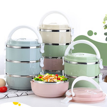 TUUTH 304 Stainless Steel Japanese Lunch Box Thermal For Food Portable LunchBox For Kids Picnic Office Workers School(China)