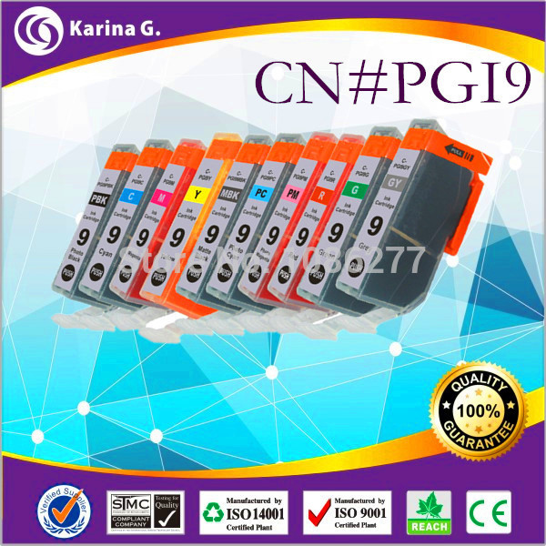 20PK High Quality Compatible Ink Cartridge for PGI9 PGI 9 PGI 9 CANON PIXMA Pro9500 Pro9500