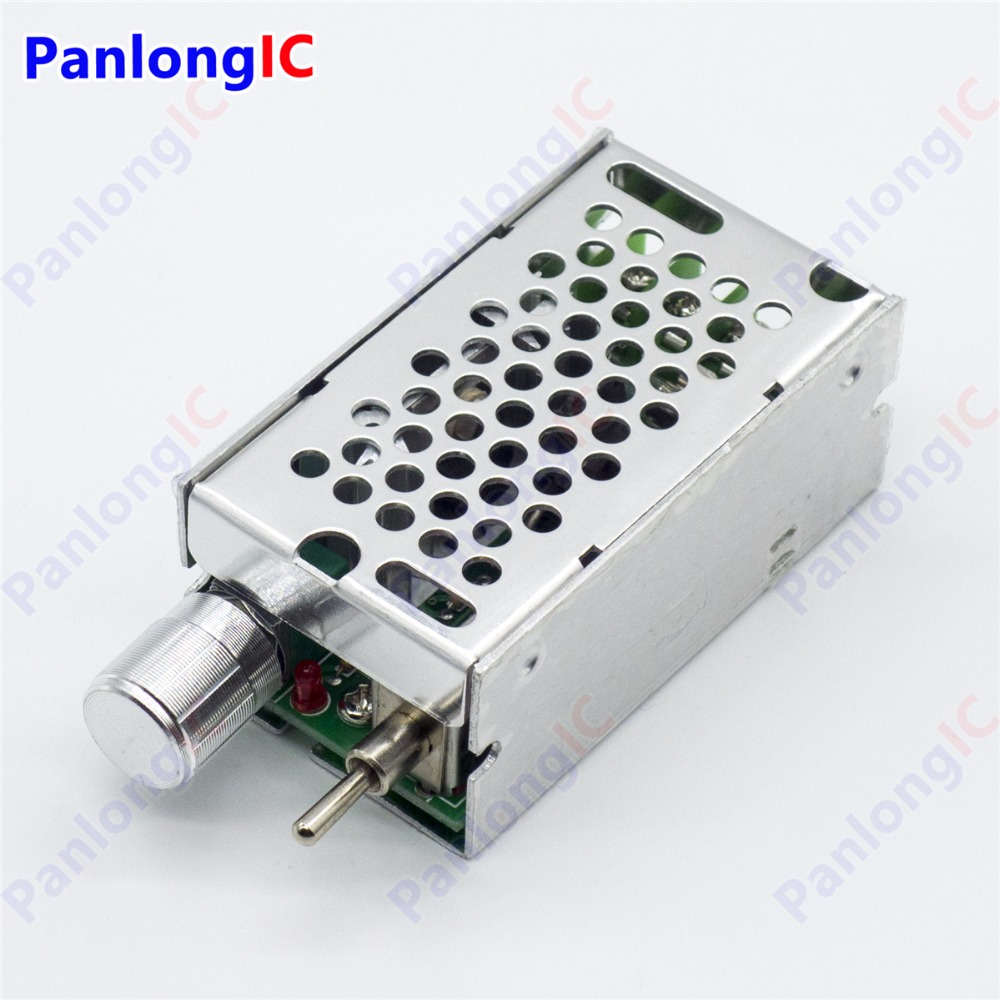NEW 12-40V 120W DC Motor Speed Controller Reversible PWM Control Forward Reverse Switch 2 speed switch used for air damper hvac systems used double composite contact switch forward and reverse motor switch