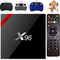 X96W S905W Smart Android TV Box Android 7.1 Mini Box TV Amlogic S905W CPU 1G/8G 2G/16G Ondersteuning 2.4 GHz WiFi HD 4 K H.265