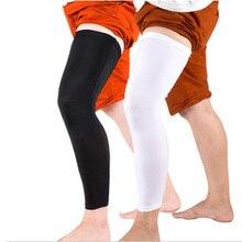 1 pcs Professional non-slip Leg Warmer Knee Running Basketball Legging high elastic breathable lengthened Leggings Outdoor Legs