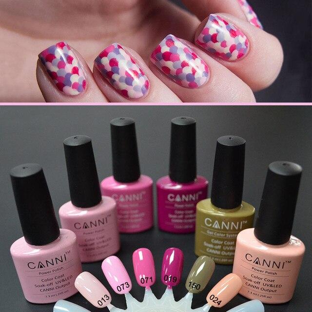 Natural nail art product #30917W100% CANNI uv gel nail polish colors ...