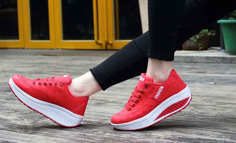 HTB1MgVHq.R1BeNjy0Fmq6z0wVXa8 Akexiya Fashion Women Height Increasing Summer Breathable Waterproof Wedges Sneakers Platform Shoes Woman Pu Leather Casual Shoe