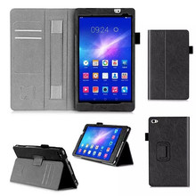 MediaPad M2 Tablet Case For Huawei Mediapad M2 8.0 Flip Book PU Leather Case +protector