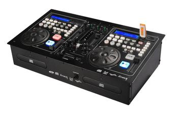 U disc player, CD disk player, DJ disc player control unit, one machine, disc player, mixer effect device. dj bag palmin u 15