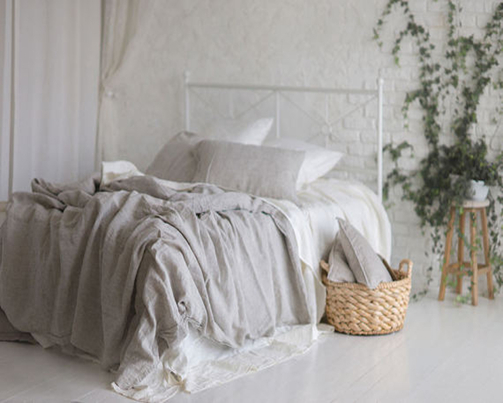 100 Natural Pure Washed Linen Duvet Cover French Bed Covers Flax Bedding Softened Twin Full Queen King New In From Home