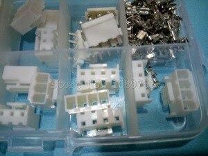 25 комплектов, 2p 3p 4 pin VH 3,96 мм Шаг клеммы корпус Pin Коннектор с коробкой