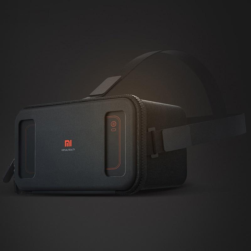 Original Xiaomi VR Box 3D Virtual Reality Glasse Cardboard MI VR for apple iphone sumsang meizu Note 4.7-5.7 In Stock Freeship
