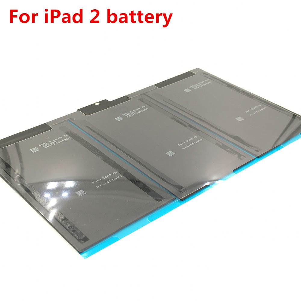 AYJ 1pcs Internal Original <font><b>Battery</b></font> For iPad 2 2nd <font><b>A1376</b></font> A1395 0 Cycle 6500 mAh gen generation <font><b>battery</b></font> Replacement <font><b>batteries</b></font> image