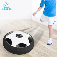 цена Children Mini Development Toy Ball Toys Hovering Multi-surface Indoor Gliding Air Suspended Football Football Floating Football онлайн в 2017 году
