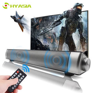 HYASIA Bluetooth Soundbar Stereo Loudspeaker Wireless Speaker TV Sound bar PC Home Theater Sound System Acoustic Support TF AUX
