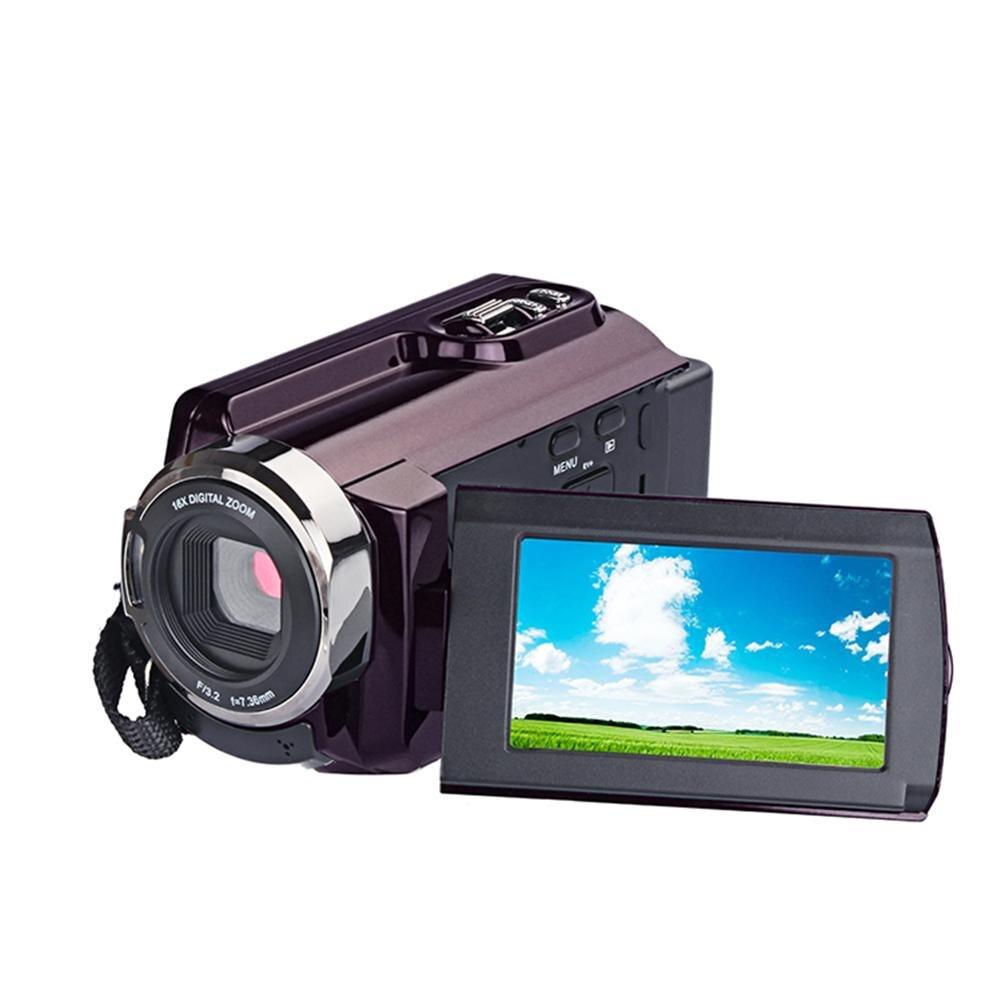 Caméscope 4 K caméscopes 48.0MP 60 FPS Ultra HD appareils photo numériques et enregistreur vidéo n objectif grand Angle externe
