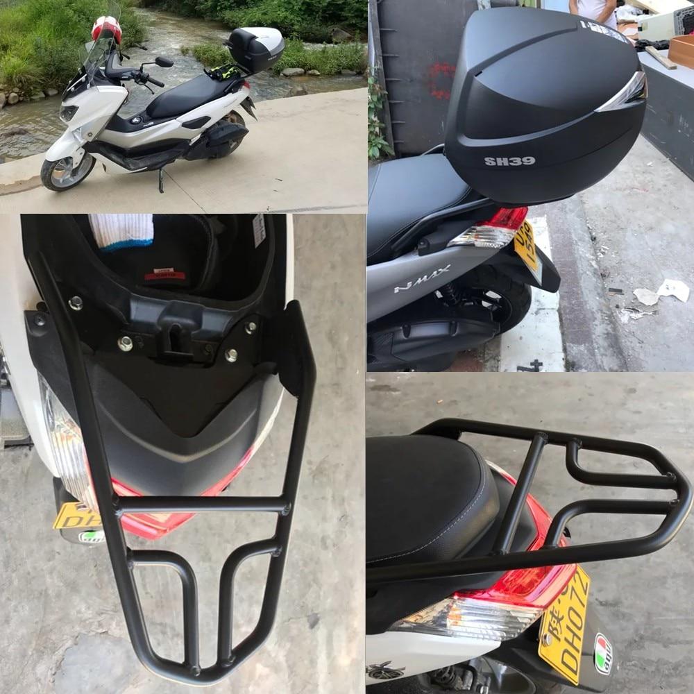 Модифицированный мотоцикл NMAX задний кронштейн ЧПУ Алюминиевый сплав задняя багажная стойка держатель полка Кронштейн верхняя коробка для