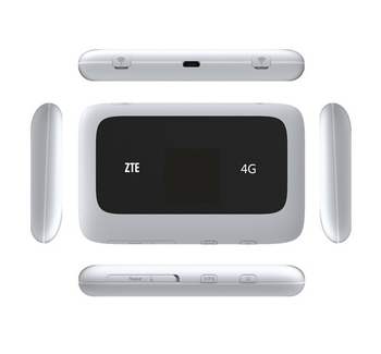 ZTE MF910 Unlocked   4g lte wifi Router Support LTE  4G  hotspot  plus 2pcs TS9 antenna