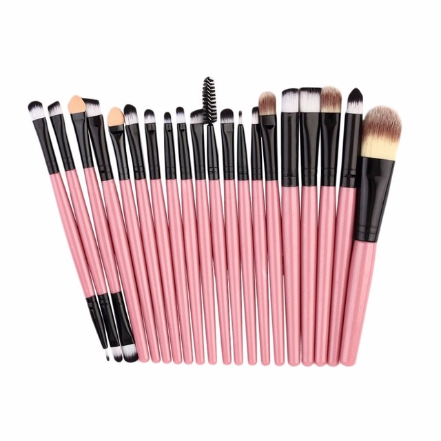 20pcs/set Makeup Brushes Pro Blending Eyeshadow Powder Foundation Eyes Eyebrow Lip Eyeliner Make up Brush Cosmetic Tool 3
