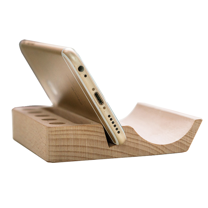 High End Wood Pen Holder Desk Accessories Stand Office Supplies Name Card Smooth Le Pencil Pots In Holders From