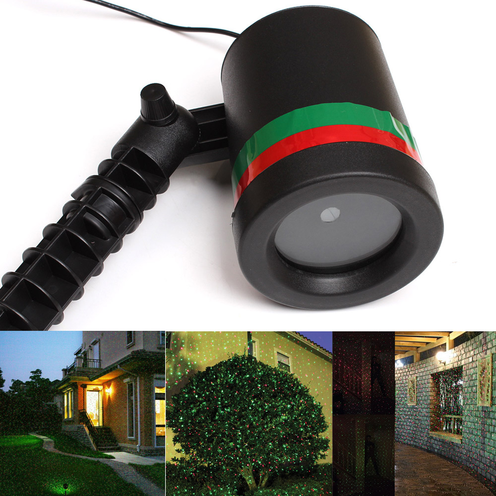 Image 4 - Outdoor Waterproof LED Stage Light Garden Tree Moving Laser Projector Christmas Party Home Decoration Effect Lamp-in Stage Lighting Effect from Lights & Lighting