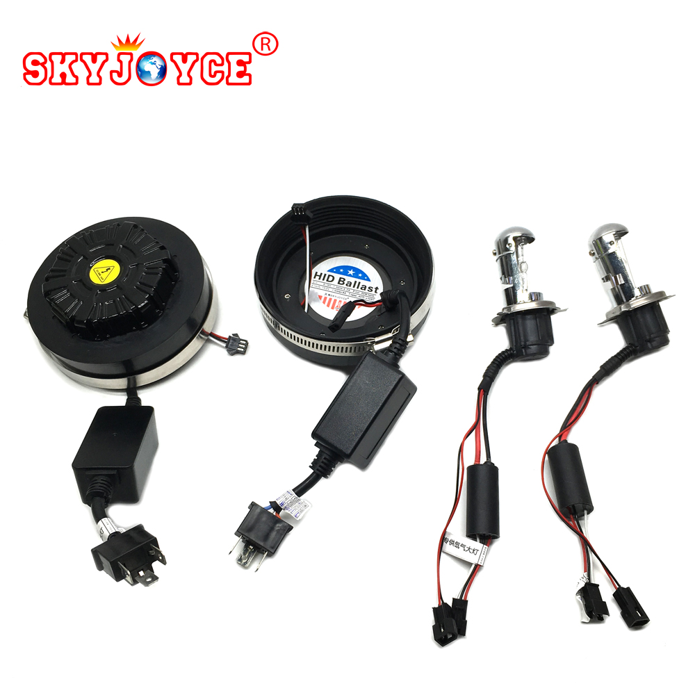 SKYJOYCE H4 hid xenon kits 55W H4 hid bixenon H/L canbus hid kit error free hid car headlight xenon white 6000K H4 hid bulb super brihgt hid light h3 hid xenon kits car headlight lamp