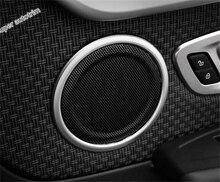 For BMW 2-Series Active Tourer 2015 – 2017 218i 220i 228i ABS Side Car Door Tweeter Audio Speaker Sound Cover Trim 4 Pcs / Set
