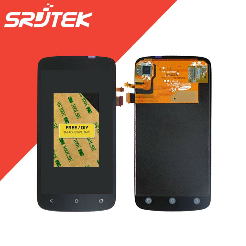 4.3 For HTC One S Z520e Z560e LCD Display With Touch Screen Digitizer Glass Sensor Full Assembly Repartment Parts