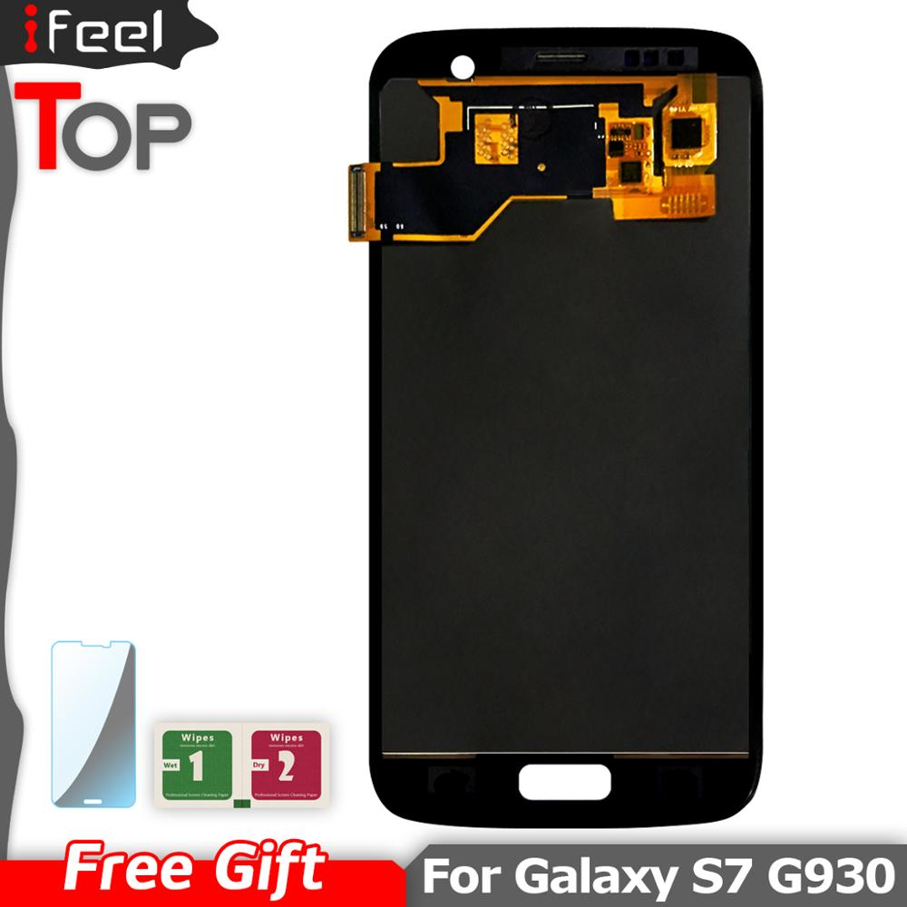 New LCDS For <font><b>SAMSUNG</b></font> <font><b>GALAXY</b></font> <font><b>S7</b></font> G930A G930F SM-G930F LCD <font><b>Display</b></font> Touch Screen Digitizer <font><b>Assembly</b></font> Replacement image