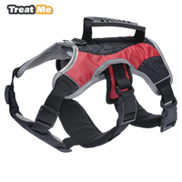 3M Reflective Nylon Dog Harness Night Safety Pet Harnesses Adjustable Dog Vest Outdoor Walking For Small