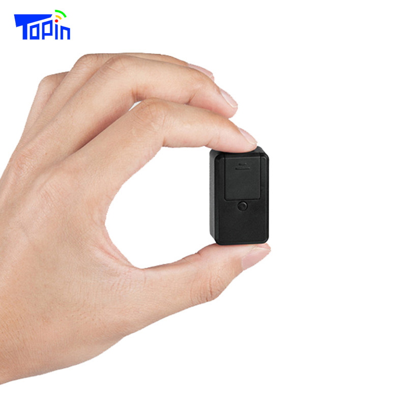 Topin G04 Super Small GPS Tracker GSM AGPS LBS Locator Real-time SOS Goods Tracking for Children Elder Pets Valuables 40*23*17mm veskys waterproof portable mini gps tracker for elder children pets tracking momentarily